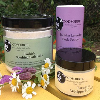 Suzanne Elliott, Woodsorrel herbal body and bath products