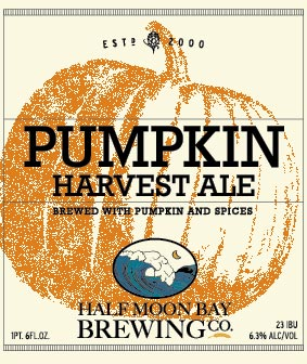 Half Moon Bay Brewing Company's Pumpkin Harvest Ale