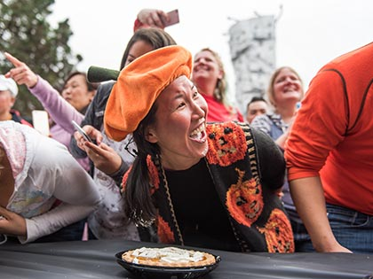 Pie Eating Contests