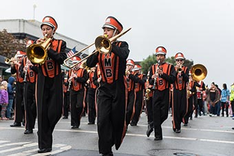 Half Moon Bay High School Cougar Marching Band