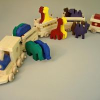 Doug Gold wooden toy
