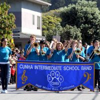 Middle school marching band