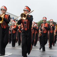 Made on the Coast Stage: Half Moon Bay High School Cougar Marching Band